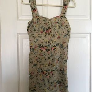 Laura Ashley x urban outfitters floral dress
